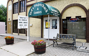 Exterior photo of Teds Paperback and Comics in Kelowna
